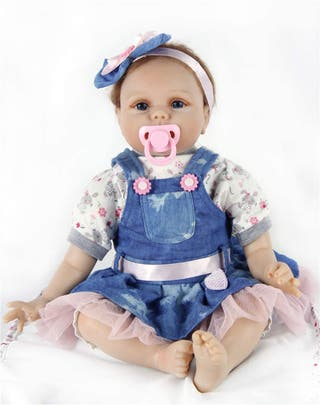 55cm Baby Reborn Doll Muñeca Renacida Vinilo