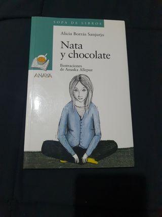 Libro Nata y Chocolate. Alicia Borrás Sanjurjo