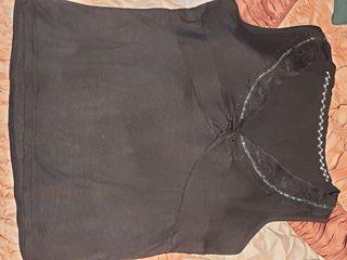 """2 top """"blusas negras"""" pack las 2 por 3€"""