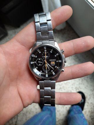 reloj marca seiko de barça edicion ilimitada