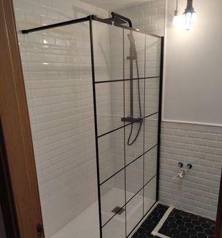 instalación de mamparas de ducha bañera