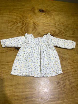 Talla 1-3 meses vestido Zara ropa bebé niña