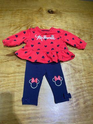 Talla 1-3 meses conjunto Disney ropa bebé niña