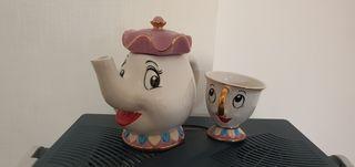 Taza CHIP y lechera SRA POT Nuevo Disney