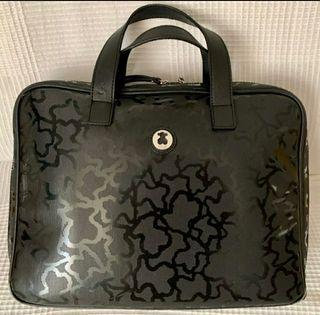 maletín Tous modelo Kaos Shiny negro
