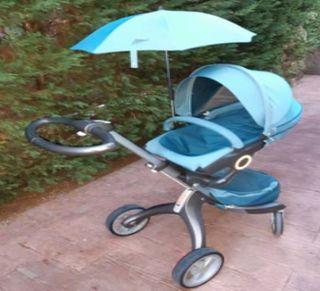 Sombrilla Parasol Paraguas para cochecitos Stokke
