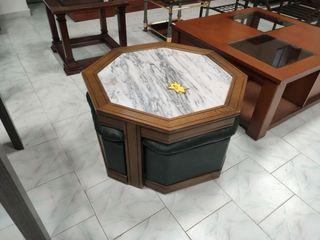 Mesa de centro con 4 Puff