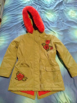 abrigo niña 7-8
