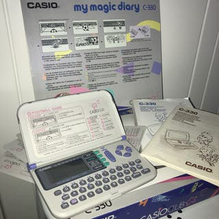 My magic diary C-330 CASIO en perfecto estado