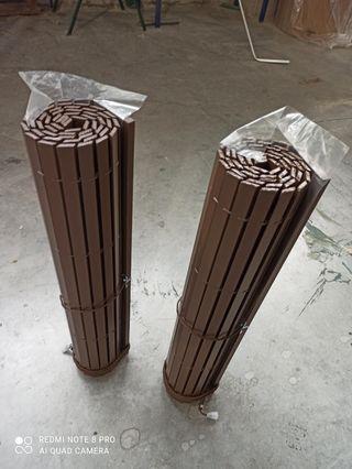 Persianas alicantina Madera marrón