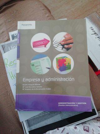 Libro de 1 grado medio de administración
