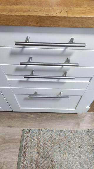 Cocina acero inoxidable Ikea de segunda mano en Madrid en