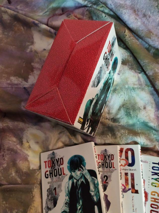 Colección manga Tokyo Ghoul