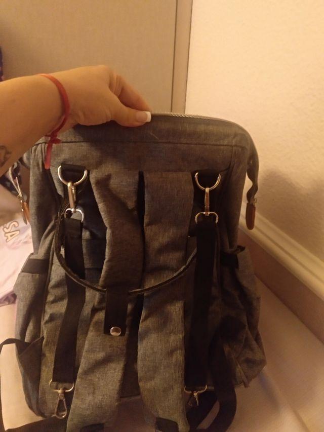 bolso / mochila maternidad para carrito