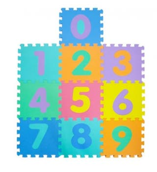 Alfombra puzzle montable bebé