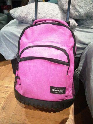 mochila infantil con ruedas niña Safta