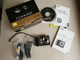Cámara de fotos Nikon Coolpix P50