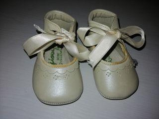 zapato bautizo bebé
