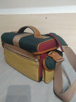 Bolsa fotografía con bolsillos