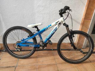 "bicicleta 24"" scoot voltage jr24"