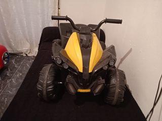 moto quad de batería marca feber modelo wagon 12 v