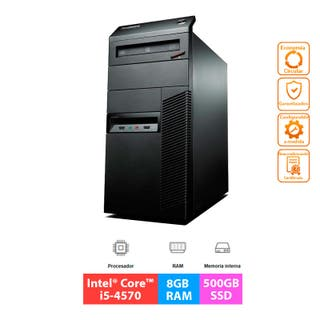 Lenovo ThinkCentre M93p MT - i5 - 8GB - 500GB SSD