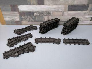 vias tren playmobil