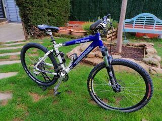 Bicicleta btt doble kona
