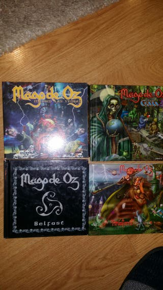 cd/dvd mago de oz
