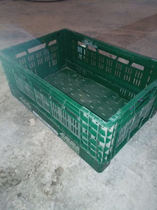 caja de plástico plegable 40x60x24