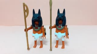 Playmobil GUERREROS EGIPCIOS . UNIDAD 6€