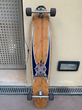 Longboard Skate lush