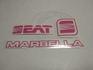 Adhesivos seat marbella rosa