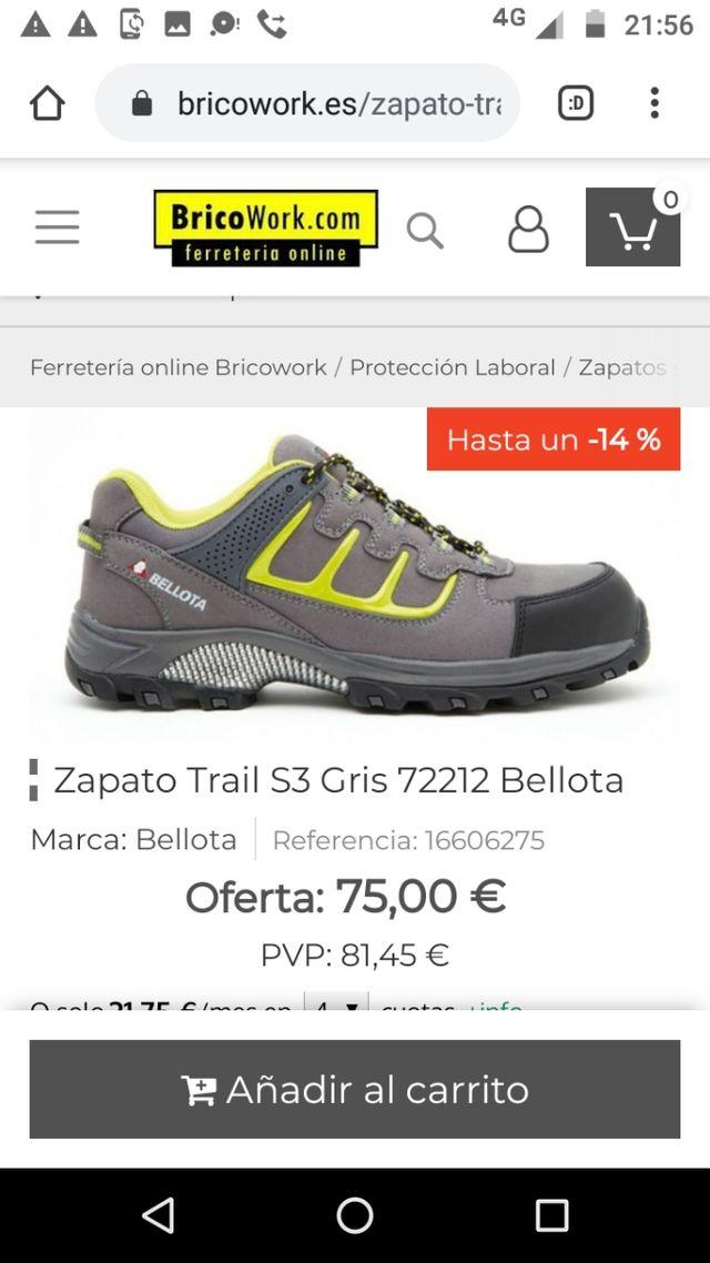 Zapatos Bellota
