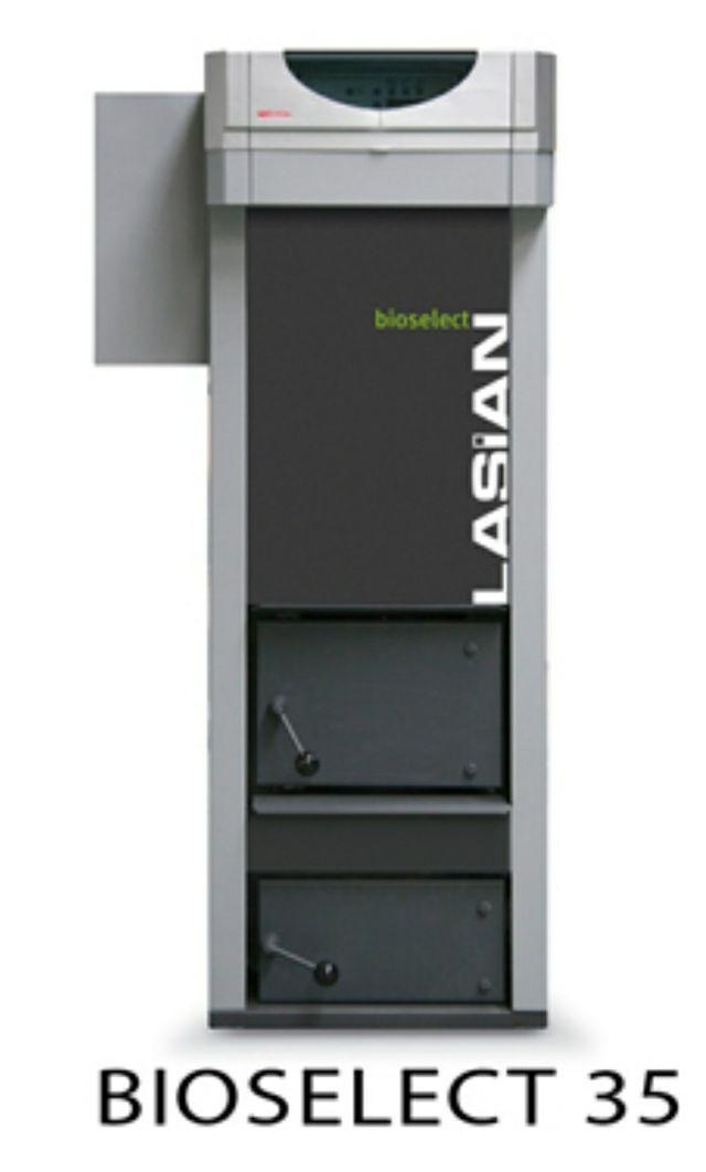 Caldera biomasa lasian Bioselect 35