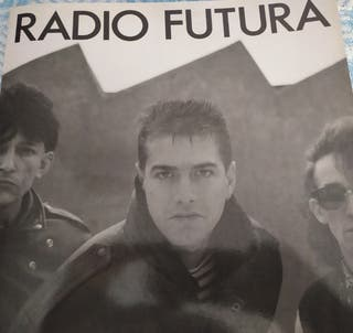 Radio Futura. libro biográfico. 1989.