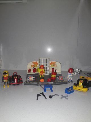 taller karts playmobil