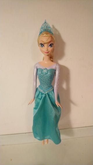 Muñeca Elsa Princesa Cantarina de Mattel