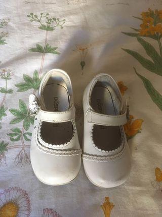 Vestido ceremonia 24 meses y regalo zapatos