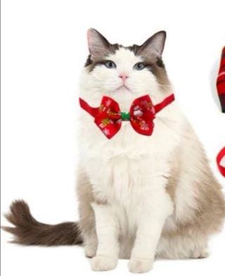 Collar ajustable Navidad para perros y gatos