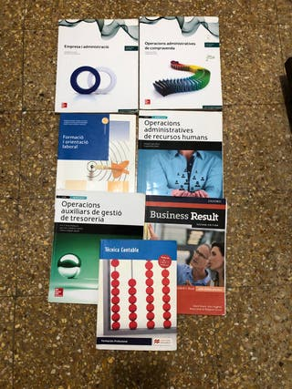 Libros Administración Grado Medio