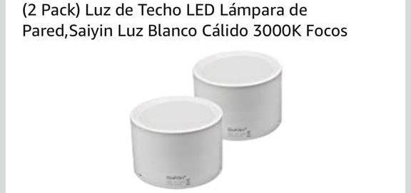 Luz de techo Led lampara