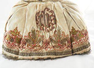 Saya o falda del s.XIX para niño Jesús o Vir