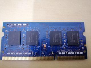 MEMORIA 2GB DDR3 RAM PC3-10600 204-Pin Laptop SODI