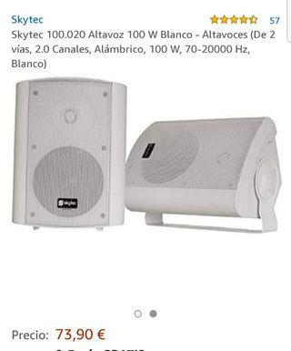 2 Altavoces x Skytec