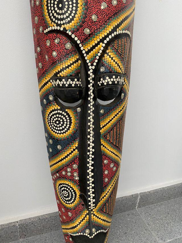 Máscara madera