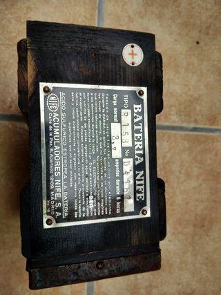 batería antigua