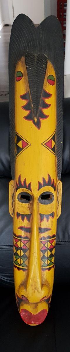 Máscara tribal.
