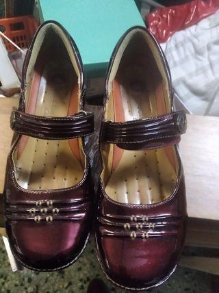 zapato clarks mujer talla 39 seminuevos