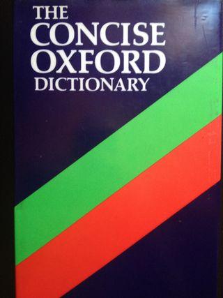 Inglés-Oxford Diccionario monolingüe